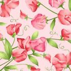 SWEET PEA FLANNEL FROM MAYWOOD STUDIO PINK MASF8121 P BY 1 2 YARD