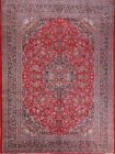 Great Condition Floral 10x13 Kashmar Persian Oriental Area Rug 12' 9