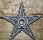 5 LG Cast Iron Stars Architectural Stress Washer Texas Lone Star Rustic Ranch 6
