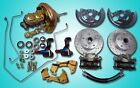 1967 1969 Chevrolet Camaro power front disc brake conversion kit w hard lines