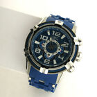 Invicta Bolt 25558 Blue Chronograph Stainless Steel Link Band Quartz Watch