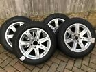 Genuine Mercedes Wheels and Michelin Alpin WINTER tyres