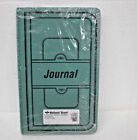 National Brand Sewn Canvas Account Book 12 1 8 x 7 5 8 Green A66300J 300 Pages