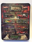 Hot Wheels Decades 10 Car Set With VW Drag Bus