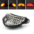 Smoke LED Brake Tail Light Turn Signals For Suzuki GSXR 600 GSX-R 750 2004-05 E