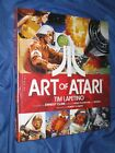 ART OF ATARI Hardback/HB/HC SIGNED Book  Dynamite (Star Wars/Pac-Man) Laptetino