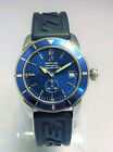 Breitling SuperOcean Heritage 38 Blue Dial A37320 38mm Watch. Excellent!