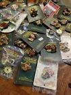 Huge Lot  Boyds Bears Bearwear Pins, all occasions Free Shipping