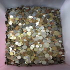 UNSEARCHED WORLD COIN FIVE POUND LB LOT 5lb Mixed Foreign Coin Lot by Weight