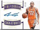 2017-18 National Treasures Grant Hill 07 35 Auto Treasured Signatures