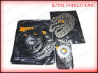 Royal Enfield Standard Electra 350cc Chain And Sprocket kit 16T/94 Pitch 4Speed
