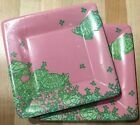 NIP Lilly Pulitzer Dessert Paper Plates feat in Desert Tort 2 sets of 8 each