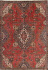 TOP DEAL Antique Geometric Tabriiz Persian Oriental Area Rug Room Size Wool 7x10