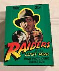 1981 TOPPS RAIDERS OF THE LOST ARK TRADING CARDS FULL BOX 36 WAX PACKS NICE