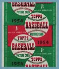 1954 Topps Baseball Card Wrapper 1 Cent Dated