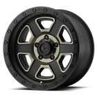 18 inch Black Tinted XD Series XD133 Wheels Rims Jeep Wrangler JK Set of 5 NEW