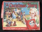 Vtg 52 Warner Press CHRISTMAS STORY Book Manger Nativity Paper Doll Pop Up