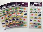 Sticko Funky Kicks Shoes Scrapbooking Stickers Lot Birthday Party Favors