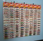 Diecast wall display NEW Hot Wheels Matchbox Jada Clamshell