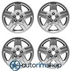 New 17 Replacement Wheels Rims for Dodge Caliber 2007 2012 Set Silver
