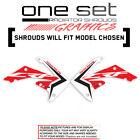 HONDA CRF 450R 450X 250R 250X 150R 150F 230F 110 125 RAD SHROUD GRAPHICS DECALS