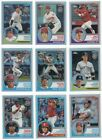 2018 Topps Chrome 1983 Topps REFRACTOR Complete 25 card set Ohtani Trout Hoskins
