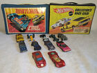 VINTAGE MIXED LOT 1969 Hot Wheels  1971 Matchbox Carry Cases  11 V HTF Cars