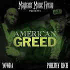 YOWDA / PHILTHY RICH-AMERICAN GREED (DIG) CD NEW