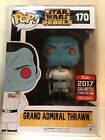 STAR WARS GRAND ADMIRAL THRAWN 2017 GALACTIC EXCLUSIVE FUNKO POP 170 W CASE