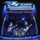 ZZ Top-Live from Texas CD NEW
