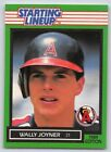 1989  WALLY JOYNER - Kenner Starting Lineup Card - CALIFORNIA ANGELS