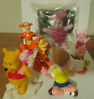 DISNEY WINNIE THE POOH AND FRIENDS CHARACTER FIGURES COULD BE CAKE TOPPERS