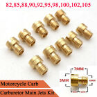 10 Size 4mm Main Jet Kit For 50 60CC 80CC 4-strock Motor Bike Engine Carburetor