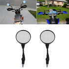 Universal Folding Motorcycle Mirror Moto Side Rear Rearview Mirrors 10mm 8mm New