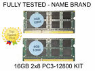 LAPTOP DDR3 MEMORY 16GB RAM KIT 2x8GB PC3 12800 DDR3L 1600MHz SODIMM MACBOOK PRO