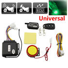Motor 2-Way Security Alarm System Anti-theft Remote Control Lock Engine Start