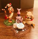 Pooh and Friends Porcelain Figurines  Winnie the Pooh Piglet and Roo