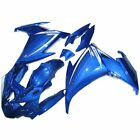 Fits Yamaha FZ6R 2009-2013 ABS Injection Molded Fairing Bodywork Kit Blue