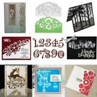 Christmas DIY Cutting Dies Metal Stencil Scrapbooking Album Paper Card Gifts