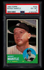 Comprehensive Guide to 1960s Mickey Mantle Cards 80