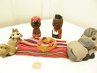 Amazing Handmade Med 25 inch 6PC Nativity from Peru