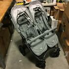 Valco Baby Neo Twin Double Lightweight All Terrain Baby Stroller (Grey Marle)