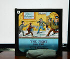 Victorian Glass magic lantern slide The fight for the standard Humour  hu1