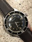 Vintage Waltham Blancpain Diving Diver Wrist Watch Rare Running!! Early Dial!!