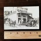 Circa 1915 Meat Market General Store Real Photo Postcard Great Image