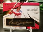 2018 Immaculate Baseball Dave Concepcion Autograph 10 40