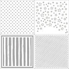 Plastic Stencil Embossing Folders Stencil Template Scrapbooking Paper Card DIY