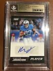 2018 Panini America NFL Player of the Day Auto Kerryon Johnson #1 25 RC Beckett