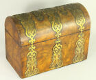 Guit Brass Tea Caddy Dome Top Box Chest