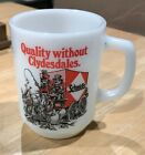 RARE VINTAGE SCHMIDT'S BEER - BREWING CO FIRE KING ANCHOR HOCKING MUG PHIL